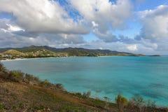 Caribbean bay Stock Photo