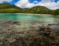 Caribbean Bay, Virgin Islands, St. John, Clear Water Royalty Free Stock Photo