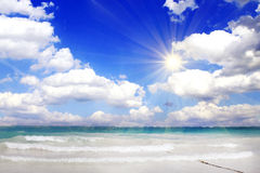 Caribbean beach . Royalty Free Stock Images