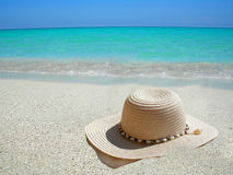 Caribbean beach hat Stock Photo