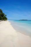 Caribbean beach island in Panama Royalty Free Stock Photos