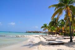 Free Caribbean Beach, Mexico Stock Photo - 16417010