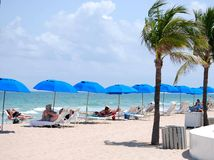 Caribbean Beach Scene stock images