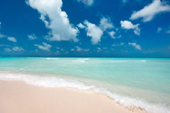 Caribbean beach and sea Royalty Free Stock Image