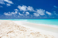 Caribbean beach and sea Stock Image
