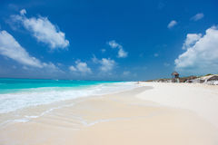 Caribbean beach and sea Royalty Free Stock Photography