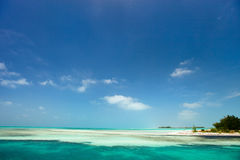 Caribbean beach and sea Stock Image