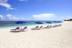 Caribbean beach. Royalty Free Stock Images
