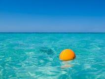 Caribbean Buoy Stock Image