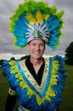 Caribbean carnival. 6 of June 2012-Reading Caribbean Carnival royalty free stock image