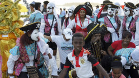 Caribbean carnival Stock Image