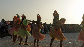 Caribbean carnival Stock Photography