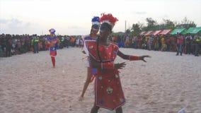 Caribbean carnival Stock Photo