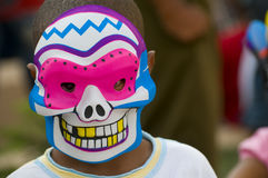 Caribbean Carnival Mask Royalty Free Stock Photography
