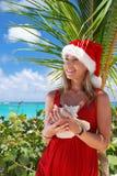 Caribbean christmas Royalty Free Stock Image