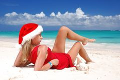 Caribbean christmas Stock Photo