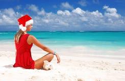 Caribbean christmas Stock Photo
