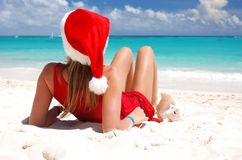 Caribbean christmas Stock Photography
