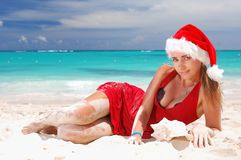 Caribbean christmas Royalty Free Stock Images