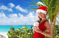 Caribbean christmas Royalty Free Stock Photo