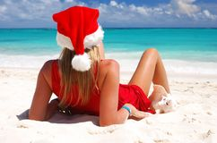 Caribbean christmas Royalty Free Stock Photography