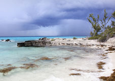 Caribbean Cloudy Weather Stock Image