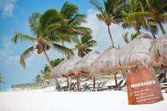 Caribbean coast Royalty Free Stock Photos