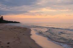 Caribbean Coast at Dusk - Costa Rica Stock Images