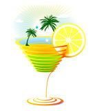 Caribbean Cocktail Stock Images