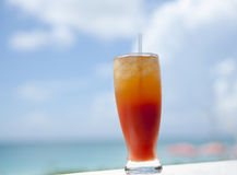 Caribbean cocktail. Royalty Free Stock Photography