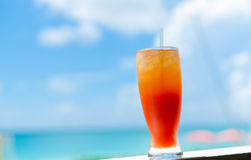 Caribbean Cocktail. Royalty Free Stock Photo