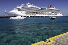 Caribbean Cruise - Port of Cozumel Royalty Free Stock Photo