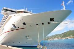Caribbean Cruise Ship Stock Images