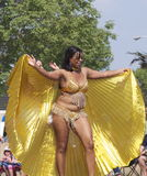 Caribbean Dancer In K-Days Parade Stock Image