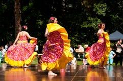 Caribbean dancers Royalty Free Stock Images