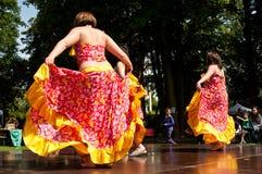 Caribbean dancers Stock Image