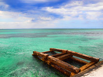 Caribbean Dock Stock Photography