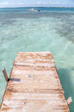 Caribbean Dock Stock Images