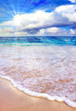 Caribbean Dream beach Royalty Free Stock Photo