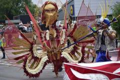 Caribbean festival. Caribbean Derby Festival 2016 royalty free stock image