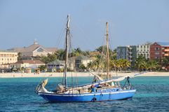 Caribbean Fishing Boat Stock Photos