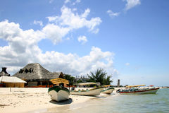Caribbean Fishing Village Royalty Free Stock Images