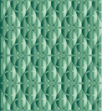 Caribbean green celtic knot background Stock Photography