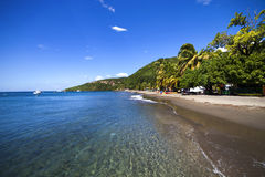 Caribbean, Guadeloupe island. Stock Images