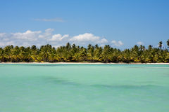 Caribbean horizon Royalty Free Stock Photo
