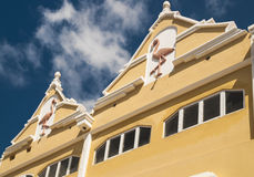 Caribbean house facade Royalty Free Stock Image