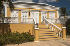 Caribbean house Royalty Free Stock Images