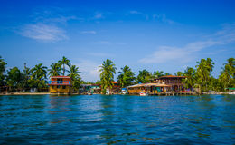 CARIBBEAN HOUSE WATER Stock Photography