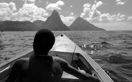 Caribbean island life royalty free stock photo