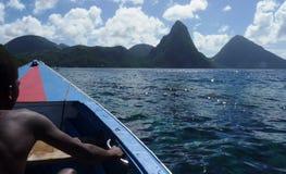 Caribbean island life Royalty Free Stock Photography